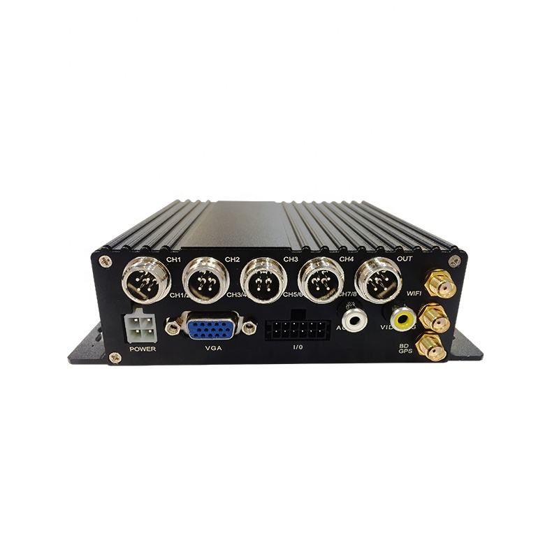 New arrival 4ch mdvr h.265 AHD 4 channel 3g 4g wifi school bus dvr mobile