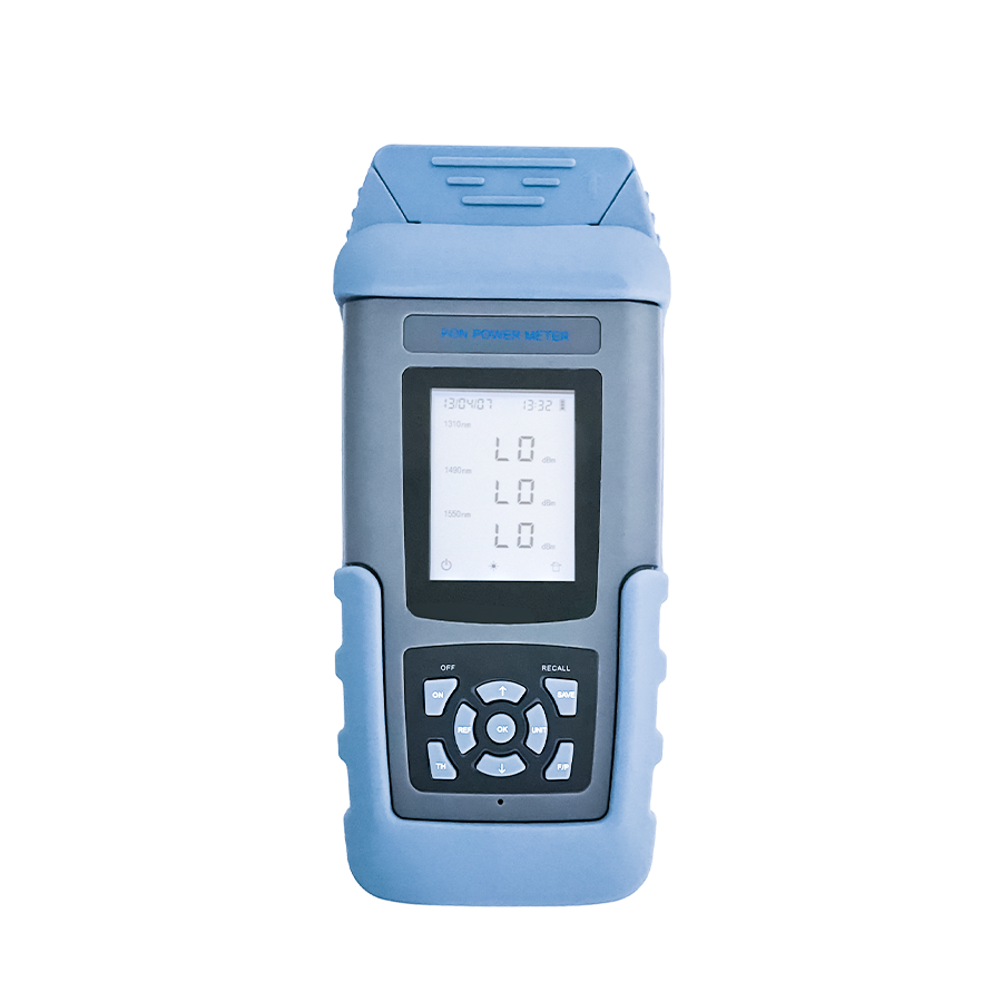 ST805C-X Pon power meter price AA battery 1000 items storage number