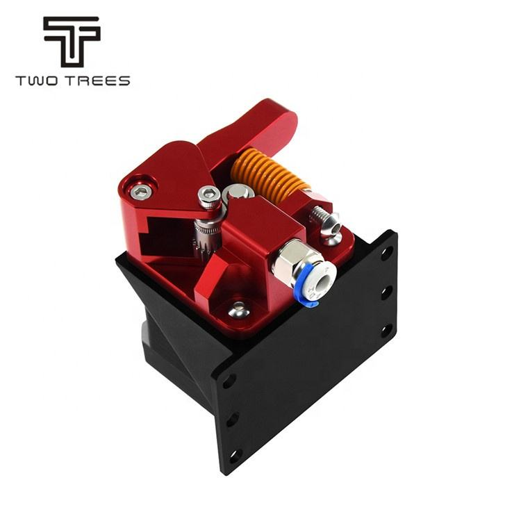 1.75mm 3D Parts Drive Feed double pulley Aluminum Upgrade Dual Gear Mk8 Extruder+motor for Extruder CR10 CR-10S PRO RepRap