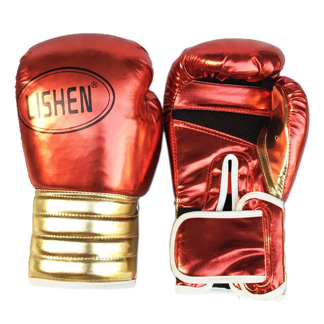 Manufacturers Direct Sale Cheap Cool Boxing Gloves Training Factory MMA Professional Lace Custom LOGO PU革ボクシンググローブ