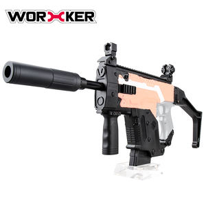 Worker STF-W004-1 Style A Dagger Shape Toy Gun for Nerf Kit Set For Upgrade Model,Plastic Shooting Blaster Gun Toy