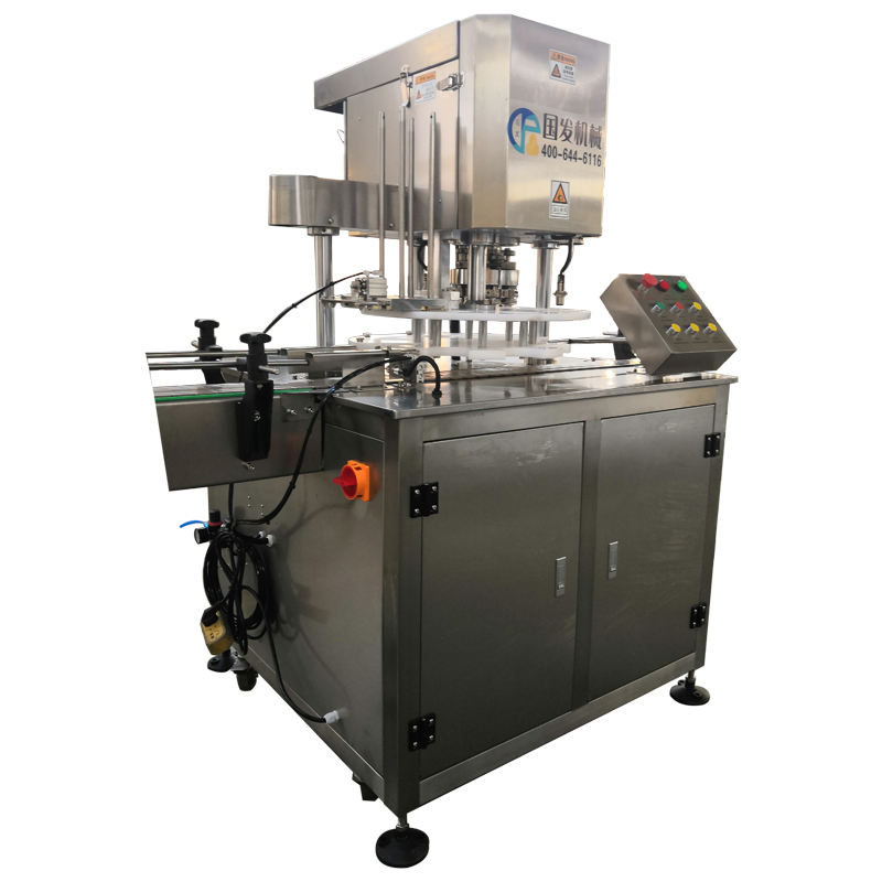 Best Selling Beverage Can Seamer / Automatic Tin Can Seaming Machine / Sealed Cans