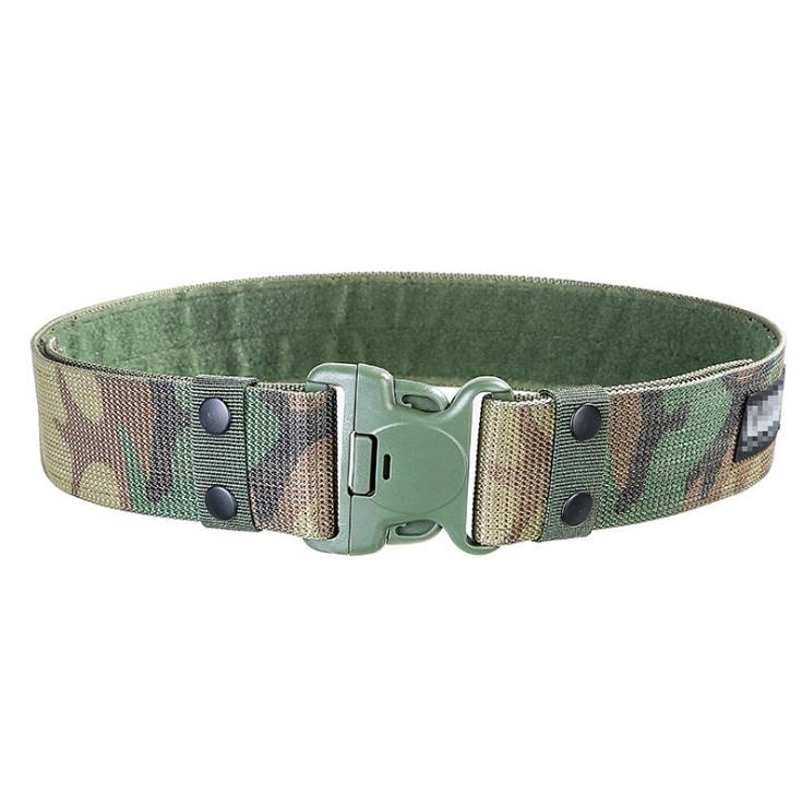Wholesale quick release security police duty nylon military uniform belt outdoor army tactical belt