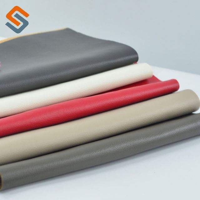 PVC Artificial Leather for Auto Car Seat and Outdoor Upholstery Furniture Sofa