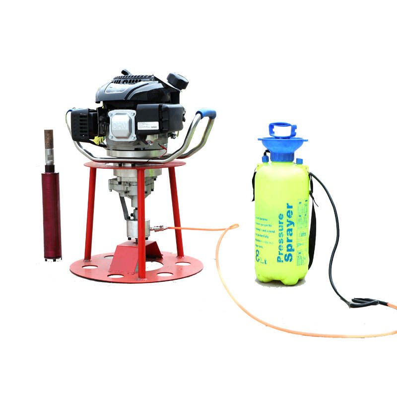 Portable backpack drilling rig rock diamond core sample drill rig machine