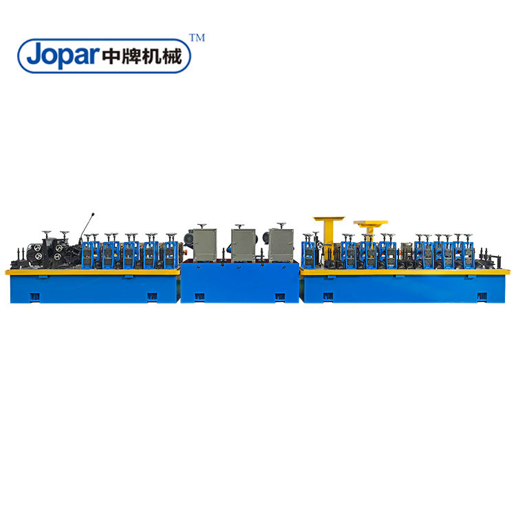 Welding Tube Mill / Pipe Roll Forming Machine SS Tube Making Machinery For Brooms