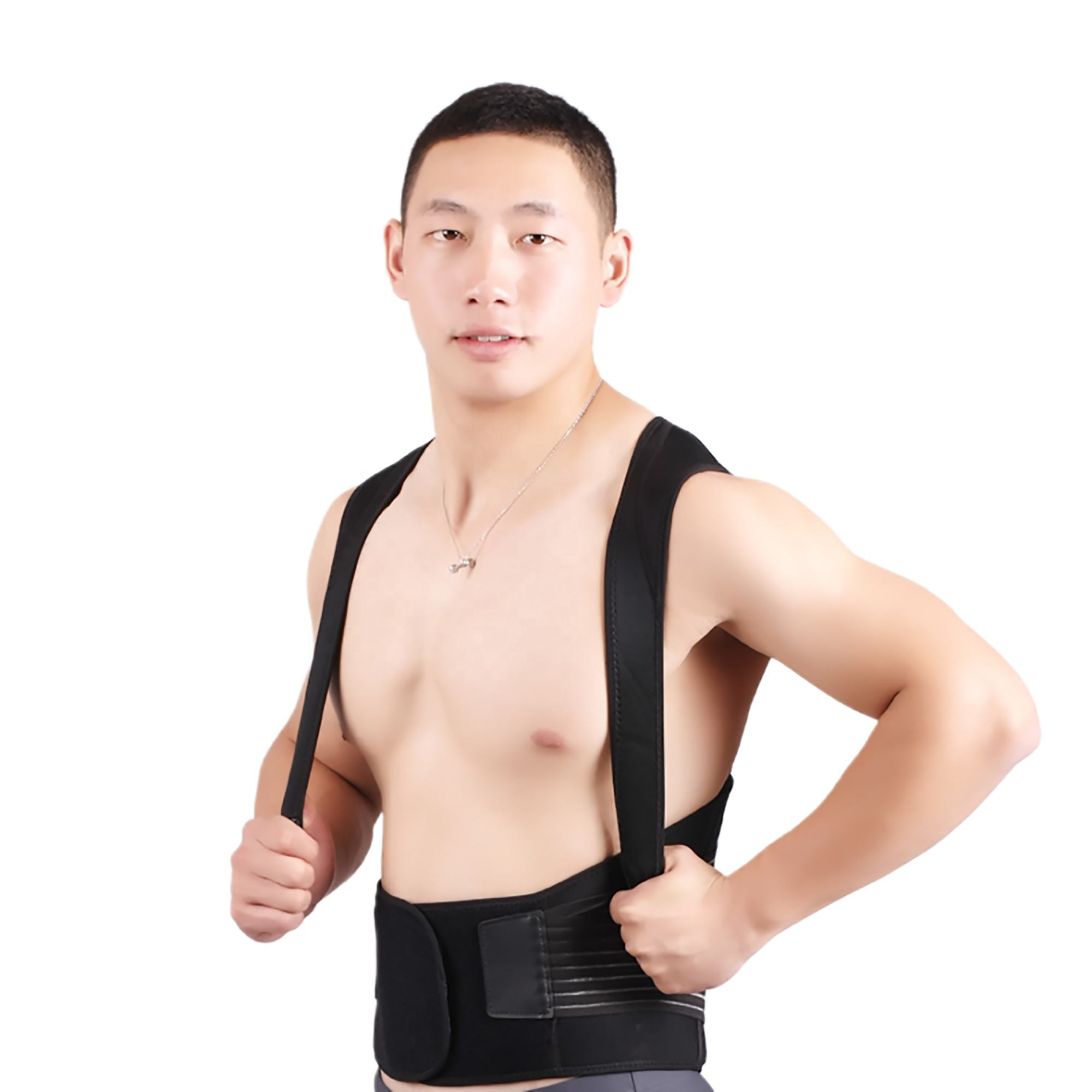 Posture Support Decompression Back Belt Lumbar Support Brace Customized Logo With Posture Back Brace