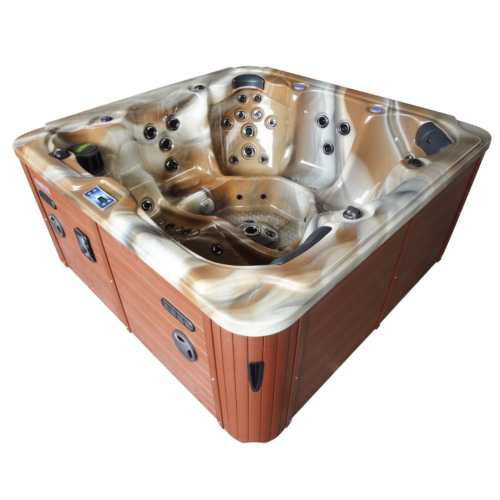 Aquaspring spa Hot sale 6 persons portable outdoor air jets hot tub offer massage