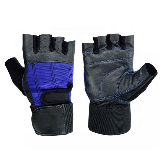 Gym Gloves For Fitness Four Half Finger Women Men Workout Glove