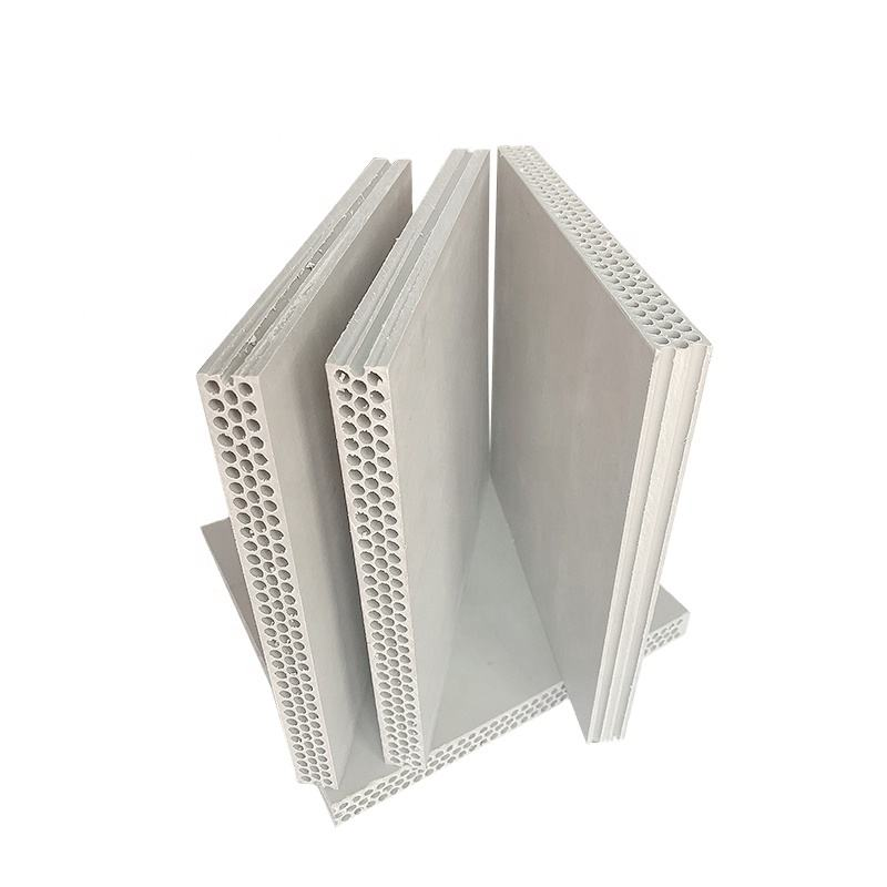 Plastic pp hollow formwork board for construction formwork