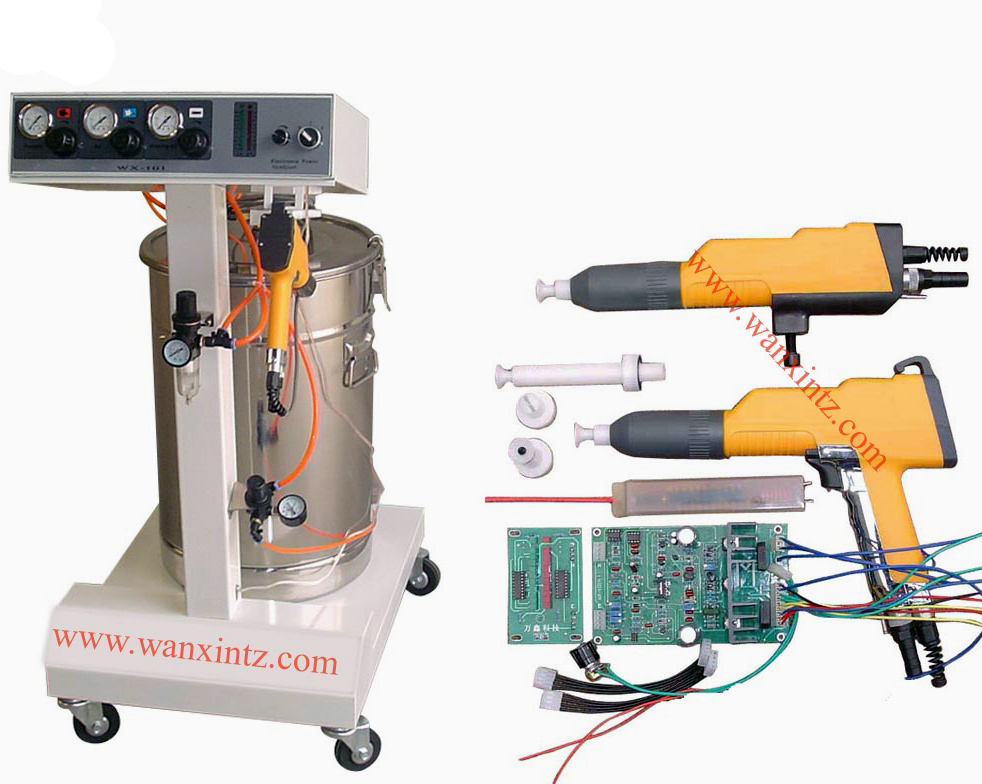 Hot sell India and Pakistan Market WX-101 Easyselect Powder Coating Gun and PCB for assemble
