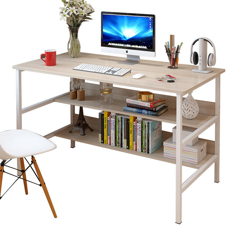 Best choice products office computer desks with one shelf