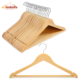 Assessed Supplier Wooden Coat Hangers, Bestseller Hangers for Cloths, Clothes Hangers, Percha
