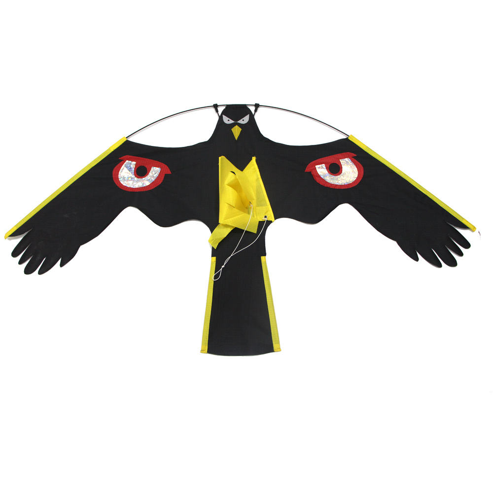 Wholesale Low price Factory directly sells 120cm Cartoon Three-dimensional easy hawk kite bird scarer kite falcon kite