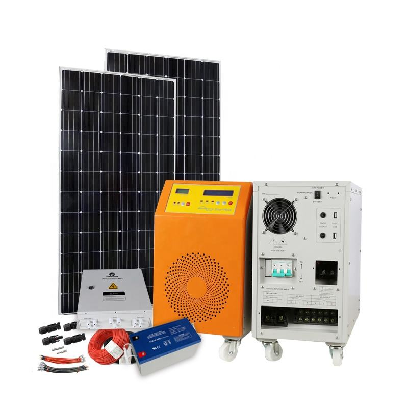 6000W solar panel kit 6KW 8KW power generator 10KW 20kw home solar energy systems