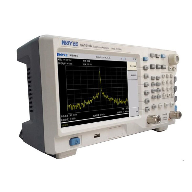 Digital Color Spectrum Analyzer SA1010B spectrum analyzer analizador de espectro de precios 9kHz~1.8GHz portable spectrum