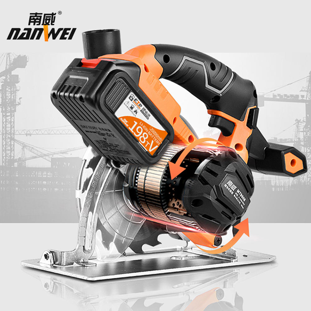 High performance Oversized battery lithium electric circular saw