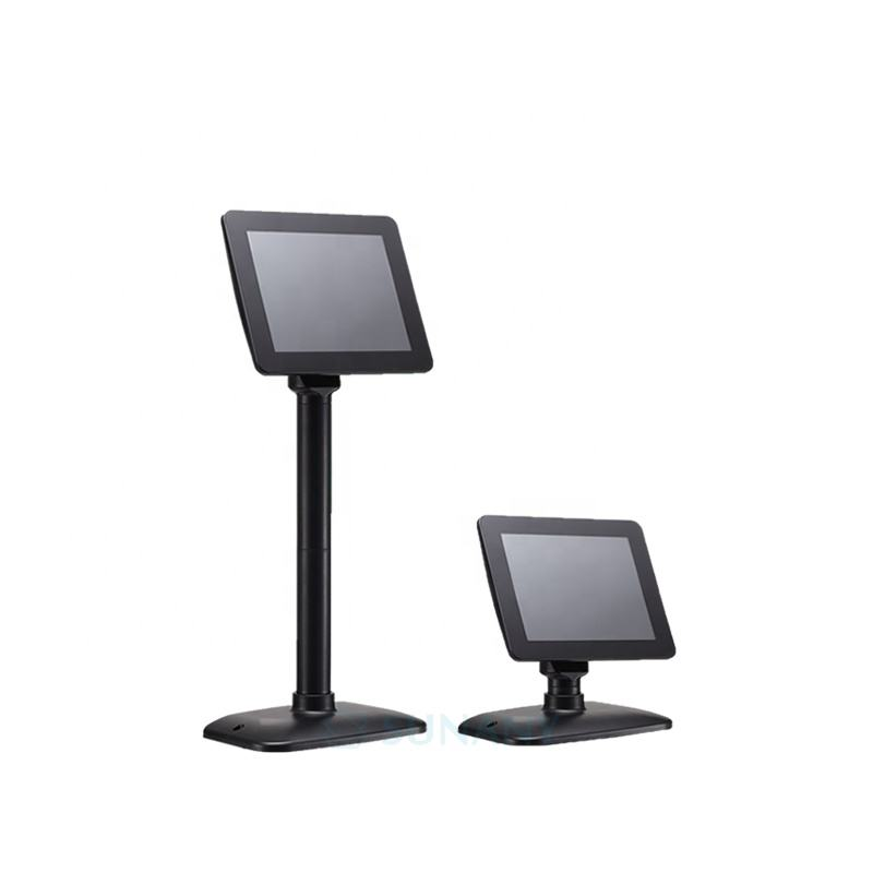 Hot Sale mini pole display supplier 8inch TFT monitor for supermarket cash register billing machine retail POS customer display