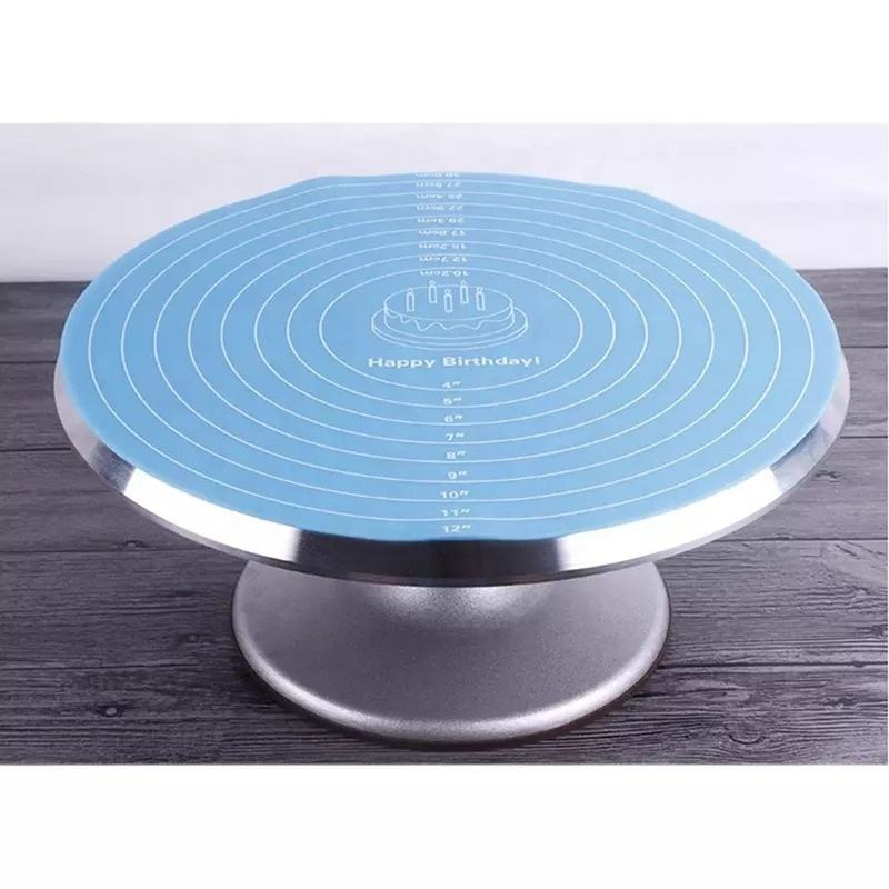 2020 Multi Function Cooking Pad Round Silicone Placemat Cake Mat Noodle Pad Placemat Baking Tool Kitchen Accessories