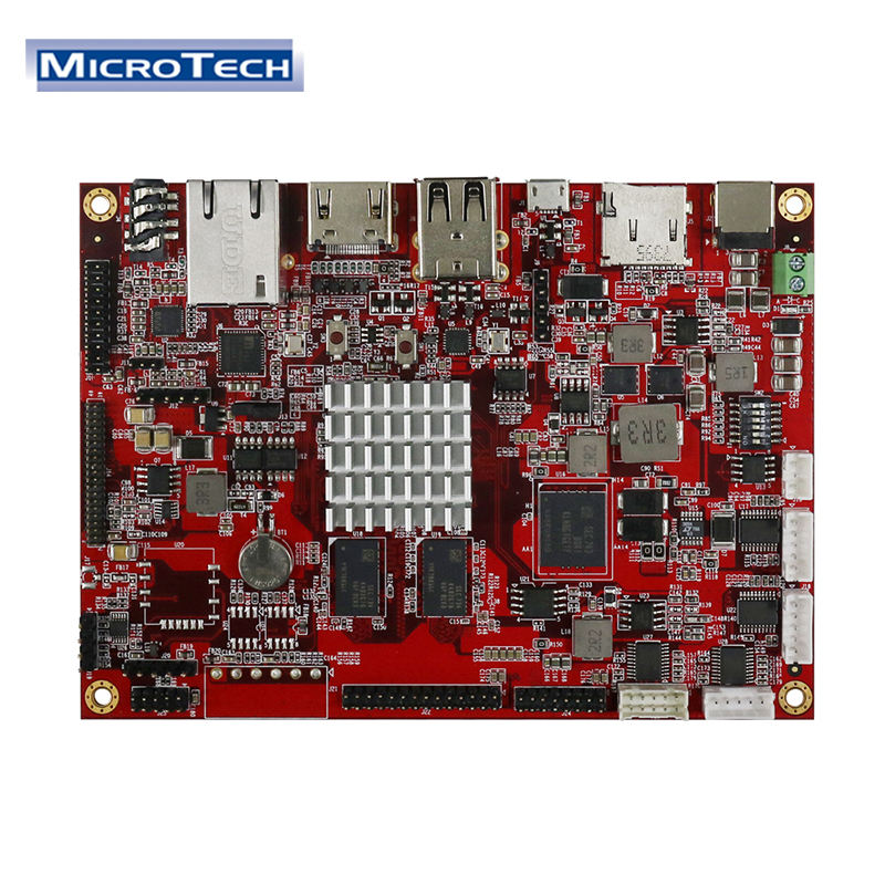 Microtech PCB/PCBA Solution Manufacturer Customized Interface PCBA Service Spare SMT PCBA Board for Raspberry PI 3 Model