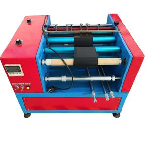 Manual Rewinding Mini Slitter Ribbon Slitter Rewinder Tape Slitting Cutting Machine