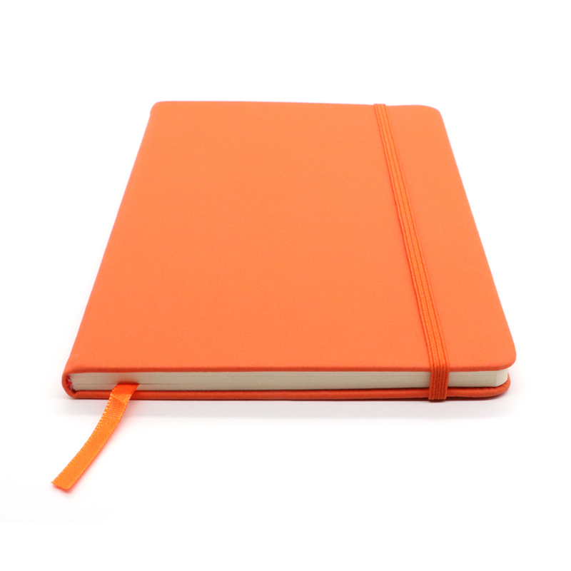 Best hot selling custom logo promotional diary pu leather hardcover notebook journal printing