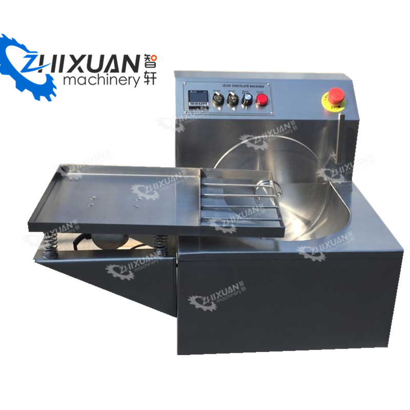 DIY shop used Wheel type tempering machine chocolate melting machine