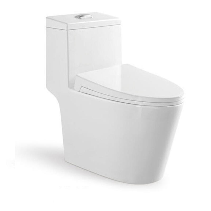 Comfort Height Siphonic Ceramic One Piece Dual Flush Water Saving Toilet