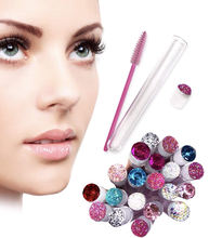 Private Label Makeup Tool  Eye Lash Wand Mascara Brush Lash Brush in Tube