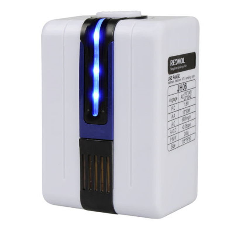 Home and Office Air Purifier Plug in with Negative Ion Generator Anion and Ionizer air purifier home appliances