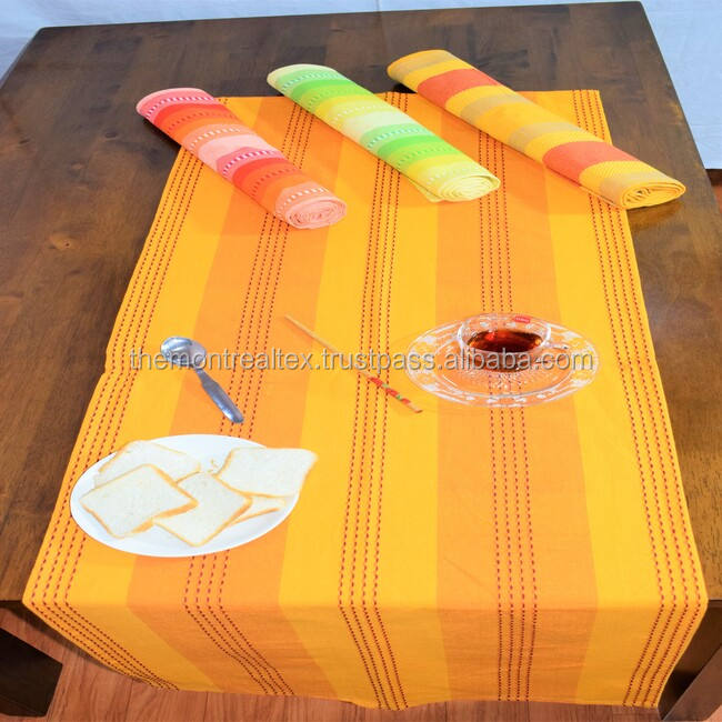Professional Manufacture New Design Table runner with Embroidered design
