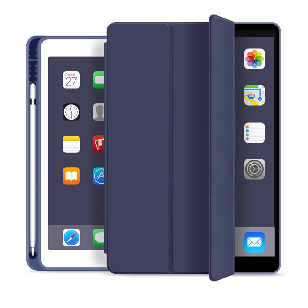For iPad air 4 pro 10.2 Case Shockproof Case Folding Stand Auto Sleep Wake Protective Smart Leather Cover Case