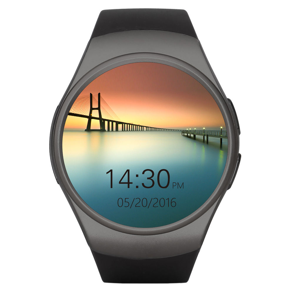 KW18スマート腕時計フルスクリーンSupport SIM TF Card Smartwatch Phone Heart Rate