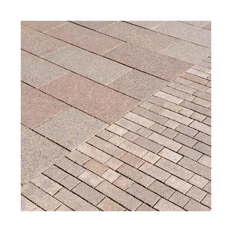 Thickness 2.5CM Flag Paver Mixed Size