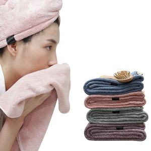 Amazon hot-selling hair drying towel turban with microfiber fabric for wholesale