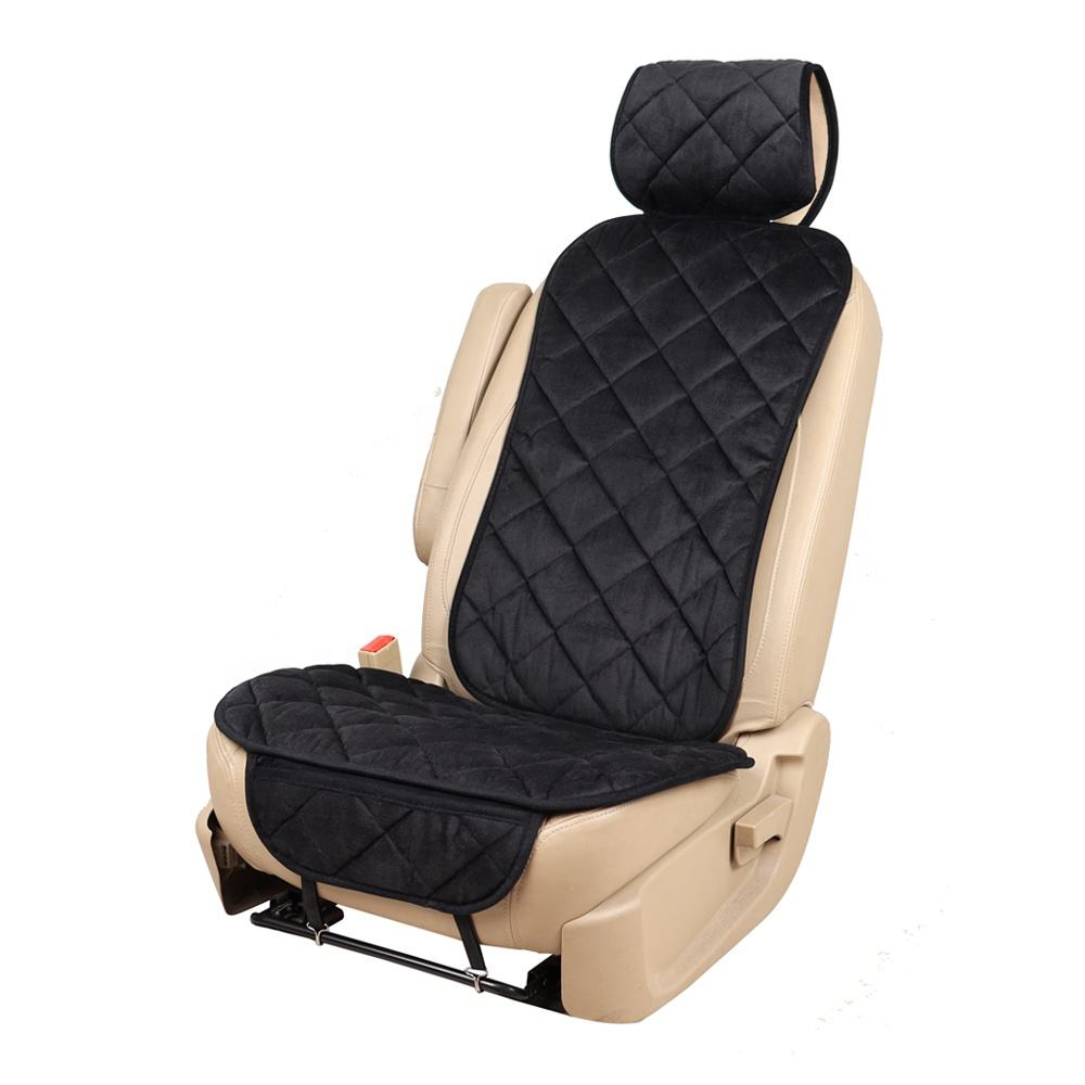 Universele Voorste <span class=keywords><strong>Auto</strong></span> Bekleding Zachte Textuur Car Seat Protector Kussen Past Meest Cars Truck Suv Of Van