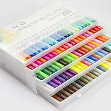 Professional Alcohol Based Ink Marker,Twin tip Art Marker, Dual tip 60 colors
