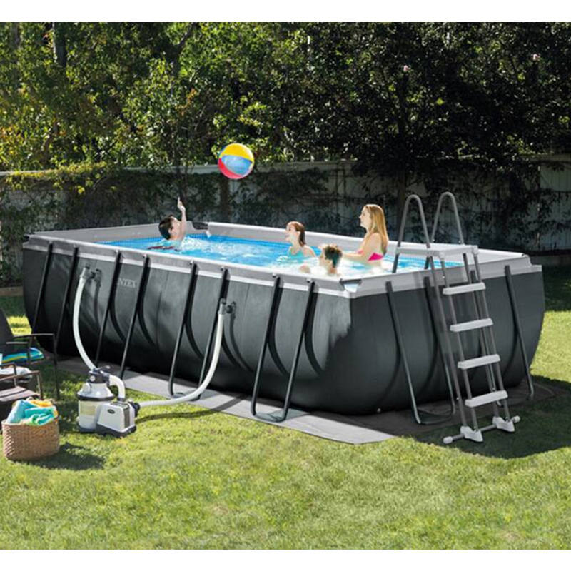 China factory Intex ultra above ground frame piscinas swimming pool Intex swimming pool for sale