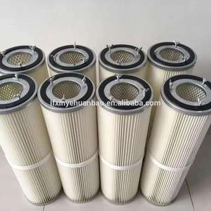 Geplooide Filter Cartridge Stoffilter Element Gas Turbine Air Filter P033779