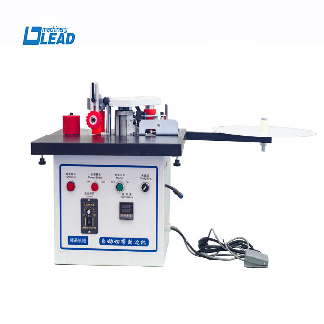 Double side small portable manual curve hand pvc edge banding machine MF30