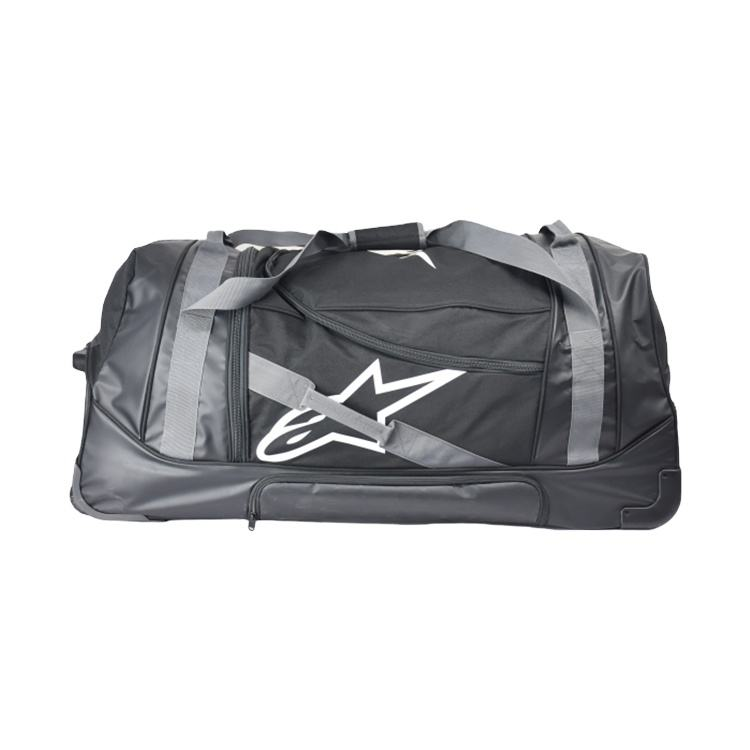 large trolley roller wheel duffle bag for motorcycle gears