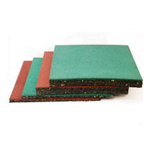 Running Various Color Thickness Gym Rubber Mat, Solid Outdoor Playground Rubber Floor Mat