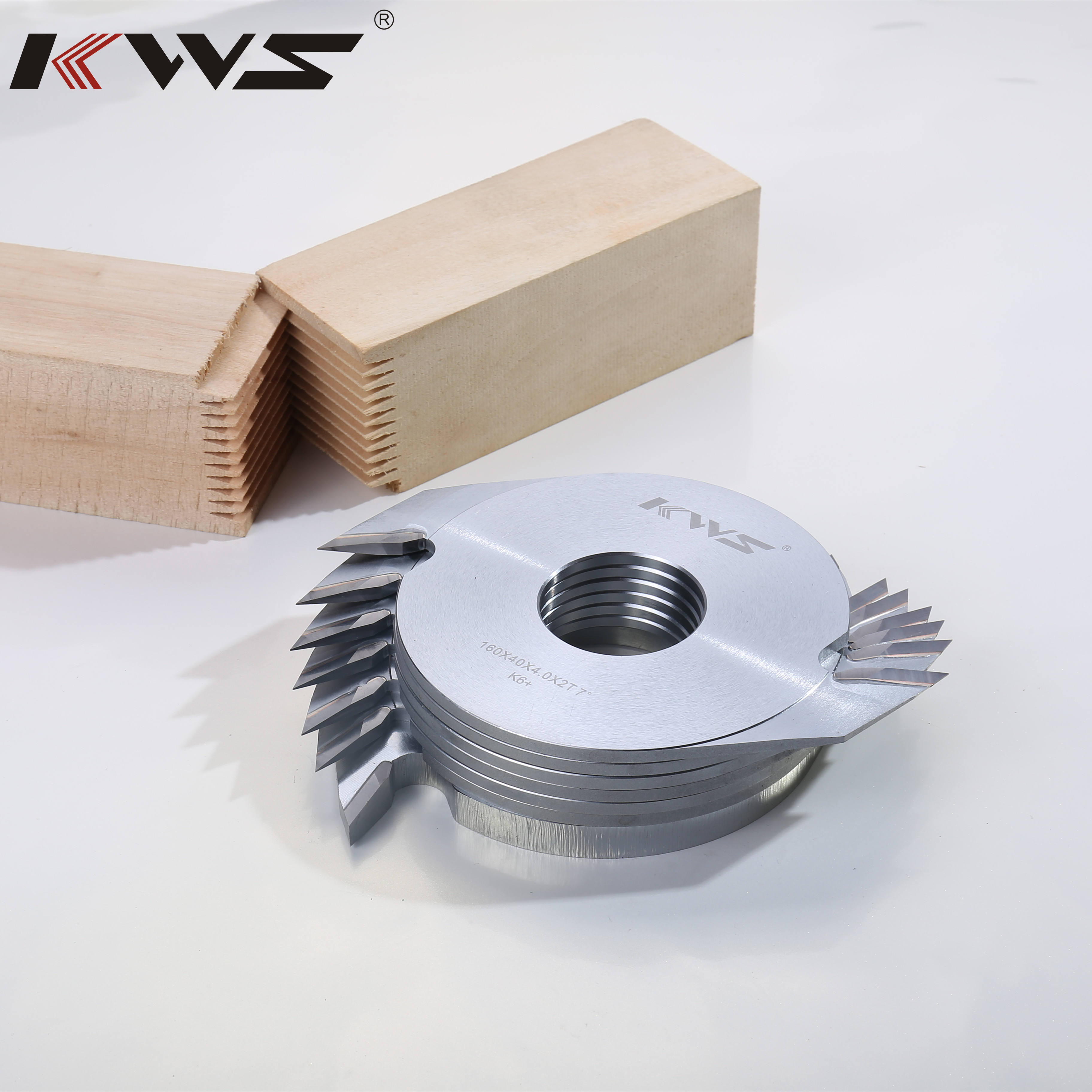 KWS 160MM 9MM Deep Finger joint cutter head for joint solid wood saw blade for wood