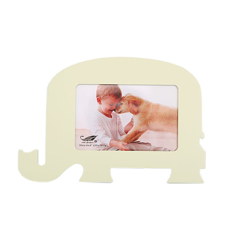 Photo Frames for Home Decor Personalized 4x6 Elephant Wood Picture Frames