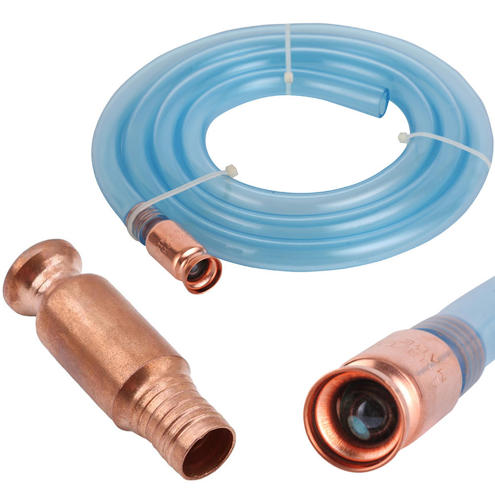 Gas//Fuel Jiggle Self Priming Syphon Hose Barrel Tank Siphon Pump Fuel Transfer