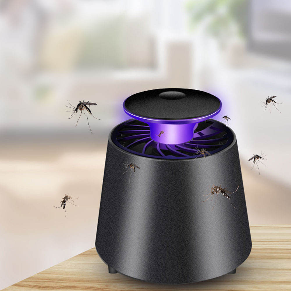 Usb Powered Insect Trap Lamp Bug Zapper Led Uv Licht Vliegen Elektronische Mug Killer Lampen