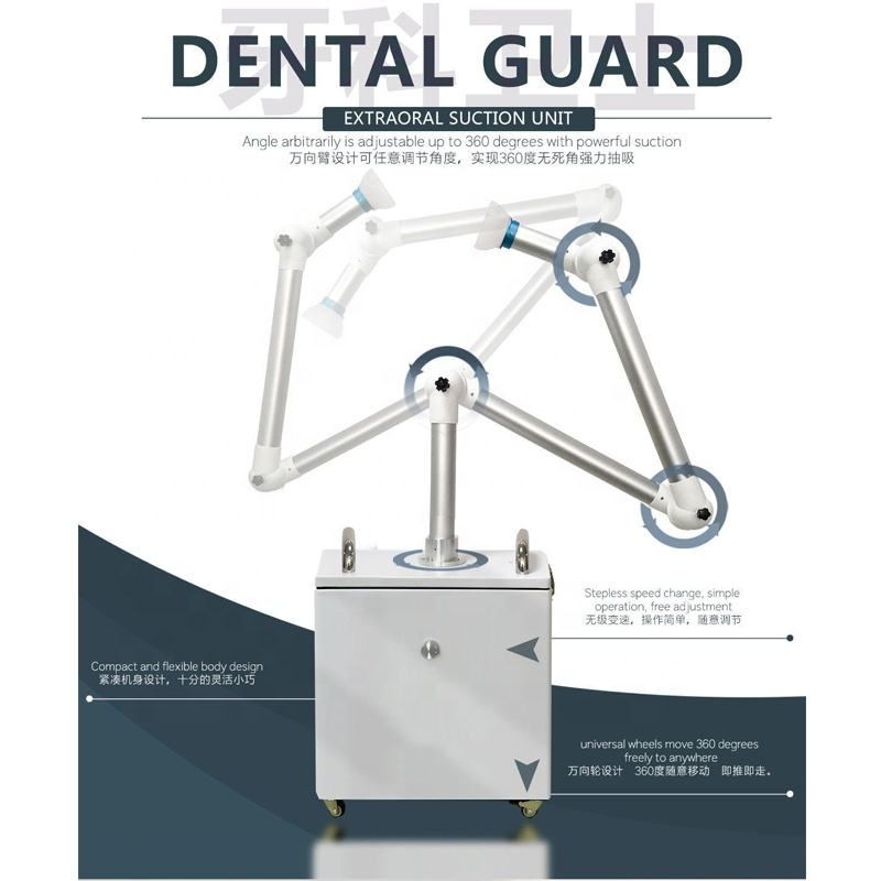 New Dental Extraoral Suction Unit / External Oral Aerosol Suction / Extra oral suction unit