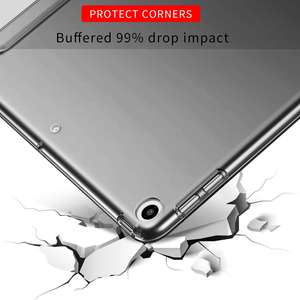 Funda Tablet Siliconen Tablet Pc Hard Case Leer Voor Ipad 10.2