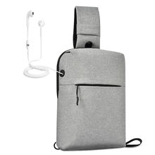 2020 Latest Waterproof Sling Bag Casual Shoulder Backpack Multi Purpose Chest Crossbody Bag