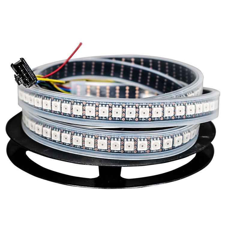 DC5V APA102 APA102C 144 leds Double Line Signal Transmission Addressable Digital RGB Led Flexible Strip Light
